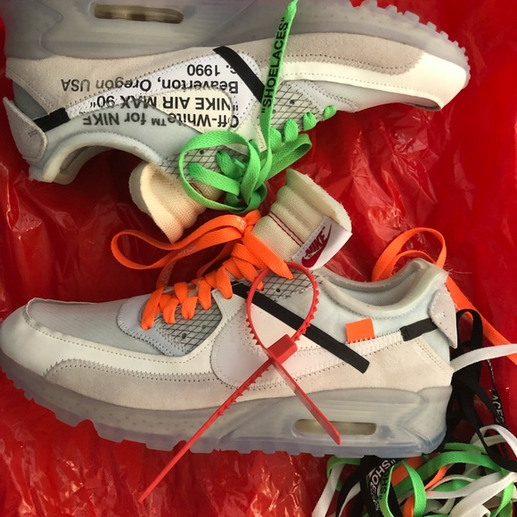 Airmax90 Off white Size 9.5 Used No box